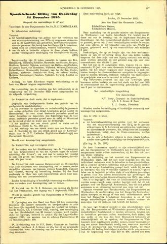 Handelingen van de Raad 1925-12-24