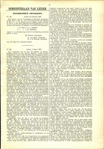 Handelingen van de Raad 1907-02-22