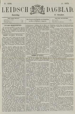 Leidsch Dagblad 1873-10-11