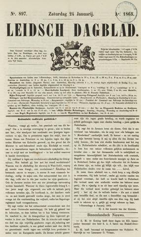 Leidsch Dagblad 1863-01-24