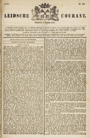 Leydse Courant 1873-02-07