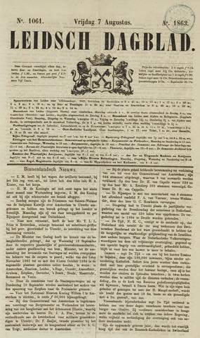 Leidsch Dagblad 1863-08-07
