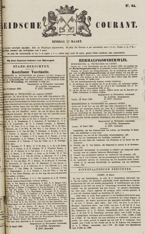 Leydse Courant 1885-03-17