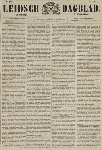 Leidsch Dagblad 1869-11-01