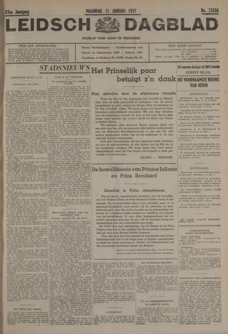Leidsch Dagblad 1937-01-11
