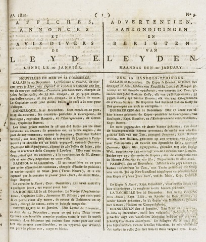 Leydse Courant 1812-01-20