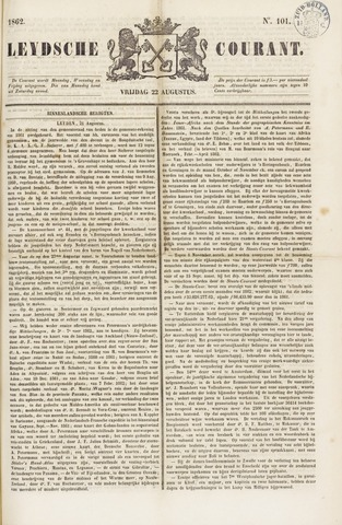 Leydse Courant 1862-08-22