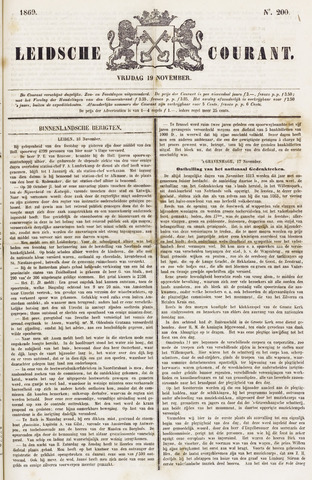 Leydse Courant 1869-11-19