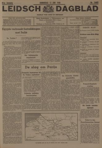 Leidsch Dagblad 1940-06-13