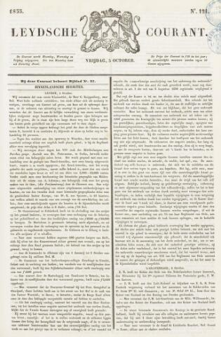 Leydse Courant 1855-10-05