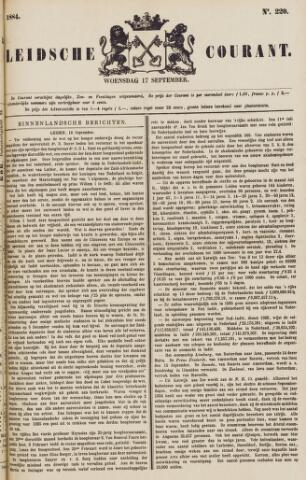 Leydse Courant 1884-09-17