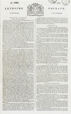 Leydse Courant 1838-11-21