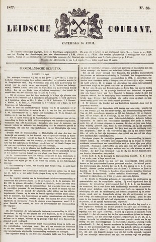 Leydse Courant 1877-04-14