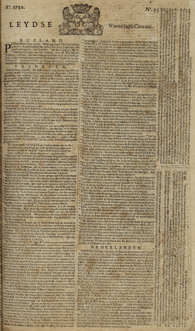 Leydse Courant 1752-08-09