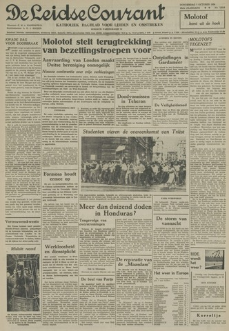 Leidse Courant 1954-10-07