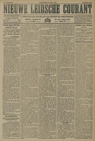Nieuwe Leidsche Courant 1927-04-13