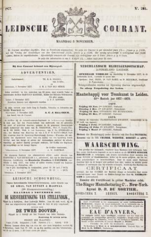 Leydse Courant 1877-11-05