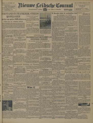 Nieuwe Leidsche Courant 1947-11-29