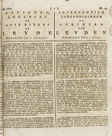 Leydse Courant 1812-07-01