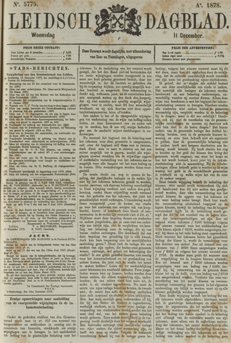 Leidsch Dagblad 1878-12-11