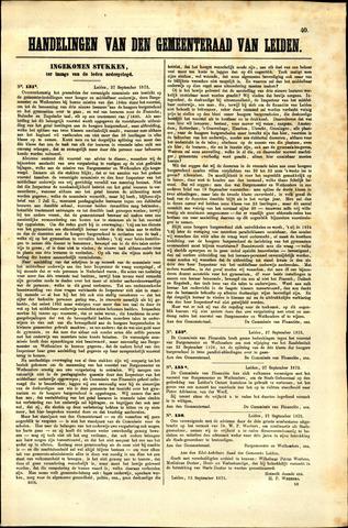 Handelingen van de Raad 1873-09-30