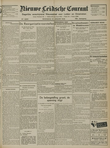 Nieuwe Leidsche Courant 1938-01-12