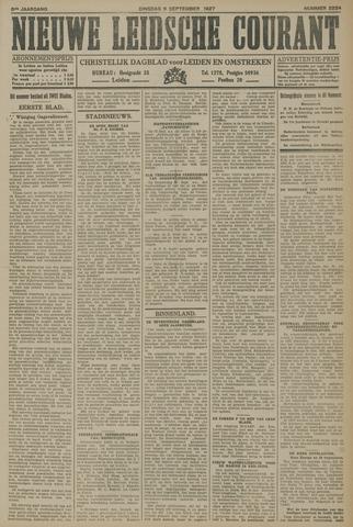Nieuwe Leidsche Courant 1927-09-06