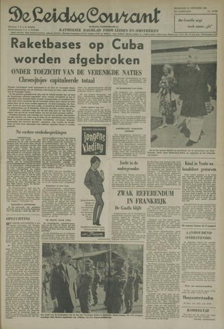 Leidse Courant 1962-10-29