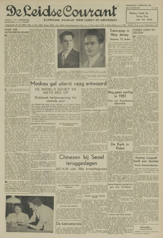 Leidse Courant 1951-02-07