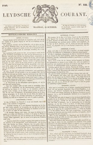 Leydse Courant 1846-10-12