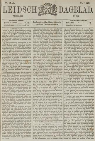 Leidsch Dagblad 1878-07-10