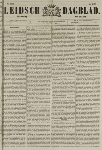 Leidsch Dagblad 1870-03-14