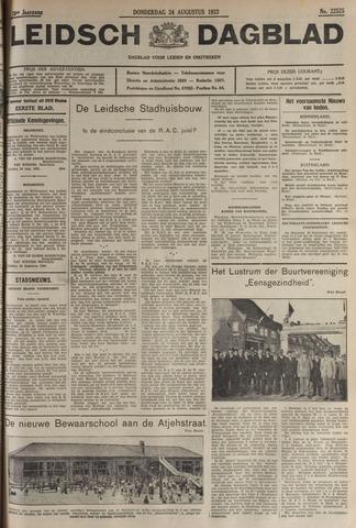 Leidsch Dagblad 1933-08-24