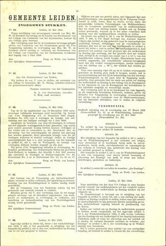 Handelingen van de Raad 1946-05-25