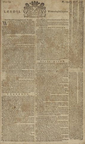Leydse Courant 1765-12-25