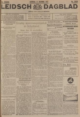 Leidsch Dagblad 1937-12-11