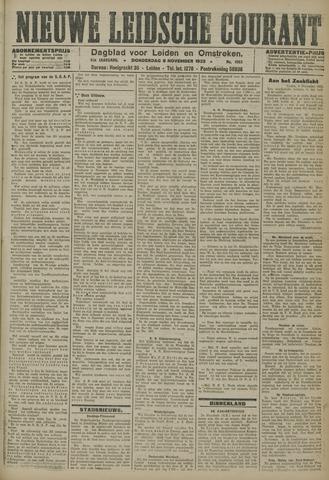 Nieuwe Leidsche Courant 1923-11-08
