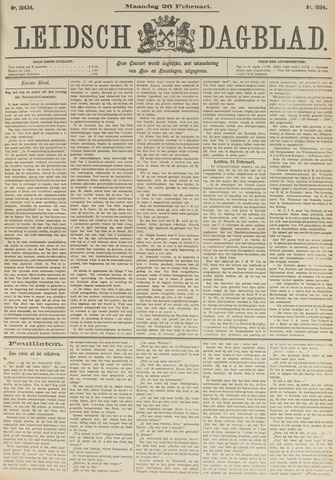 Leidsch Dagblad 1894-02-26