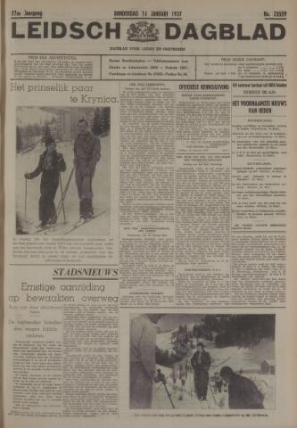 Leidsch Dagblad 1937-01-14
