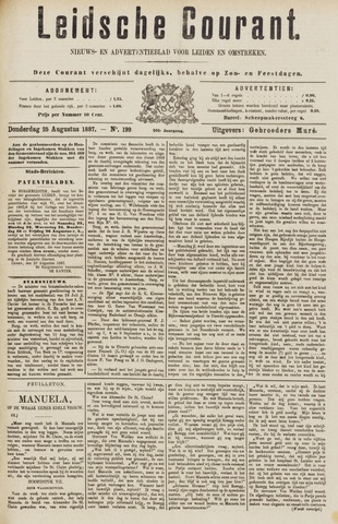 Leydse Courant 1887-08-25