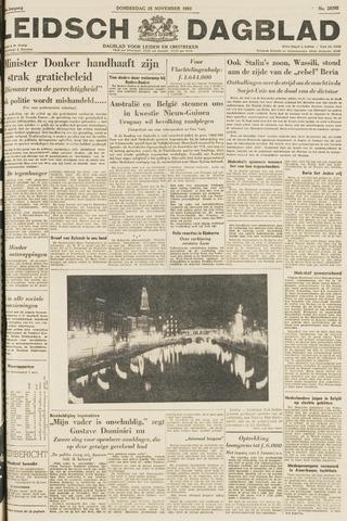 Leidsch Dagblad 1954-11-25