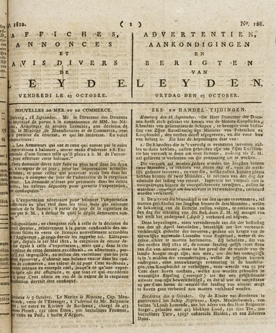 Leydse Courant 1812-10-23