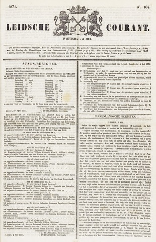 Leydse Courant 1871-05-03