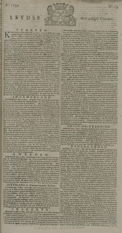 Leydse Courant 1739-06-10