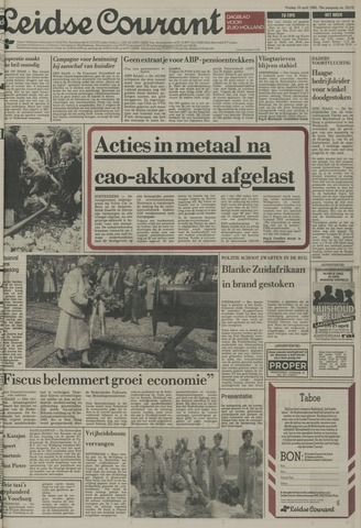 Leidse Courant 1985-04-19