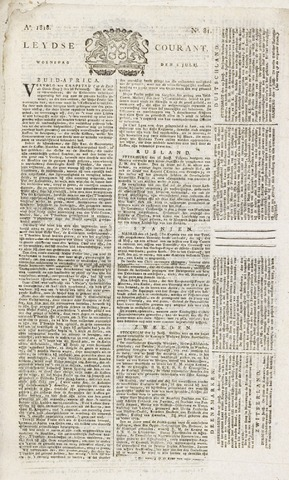 Leydse Courant 1818-07-08