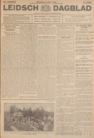 Leidsch Dagblad 1928-04-16