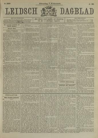 Leidsch Dagblad 1911-02-07