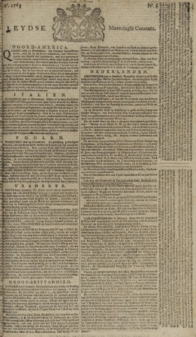 Leydse Courant 1765-01-14