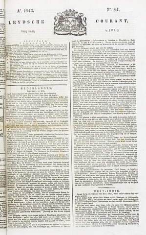 Leydse Courant 1843-07-14